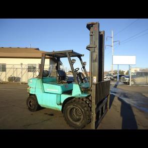 Mitsubishi 9,000 lb Forklift