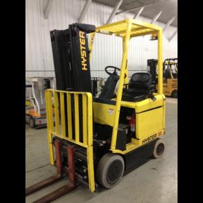 HYSTER 3,000 lb 36 Volt Electric Forklift