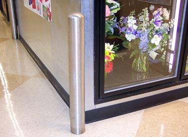 Stainless Steel Bollard 4 Inch x 32 Inch